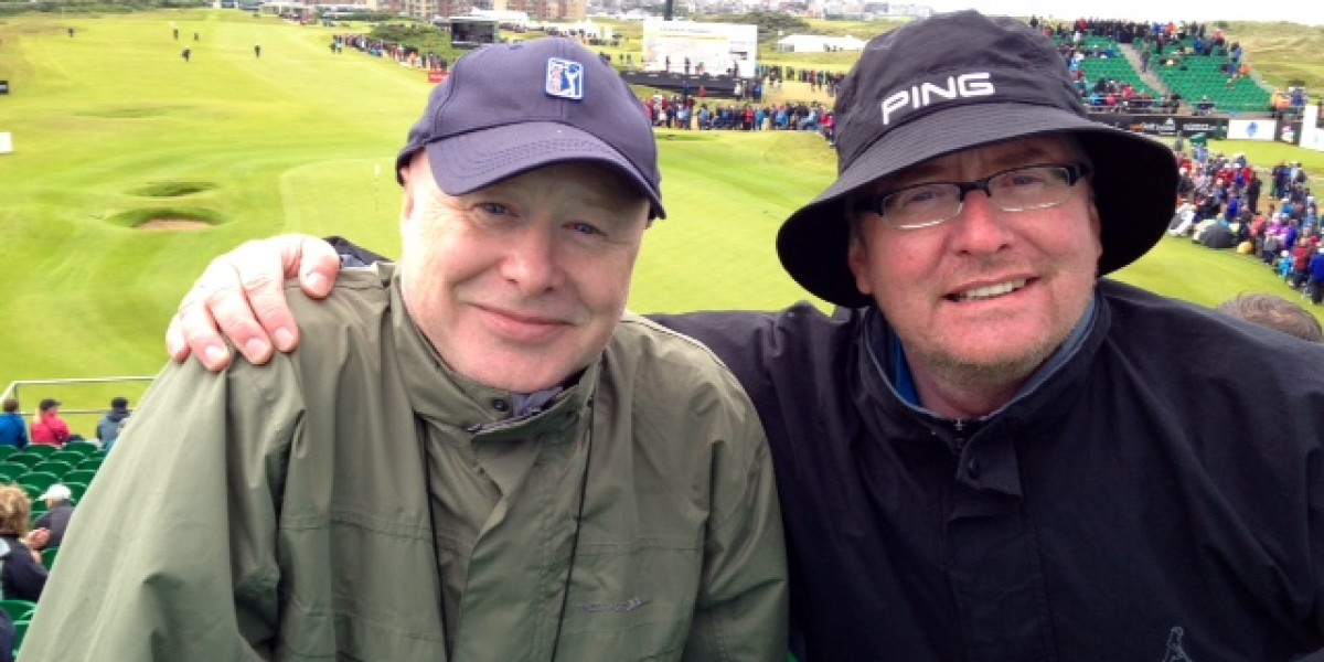 We went to the Irish Open - and only got marginally drenched