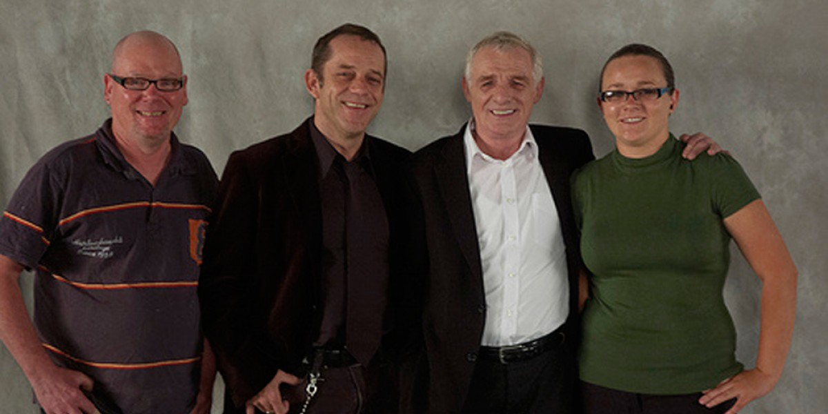 The 'Stamp Out Stigma' shoot - thanks to Sinead, Andrea, Larry, Eamon and John
